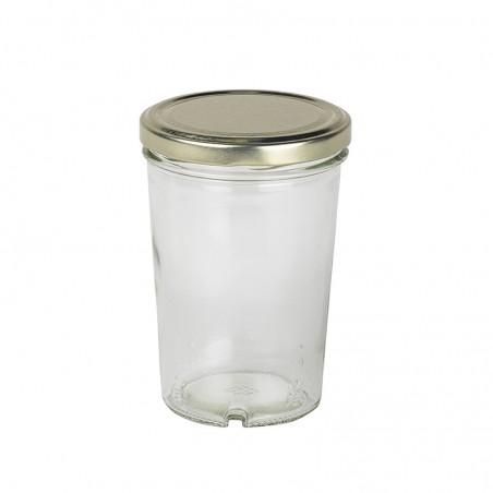 Pot verre 500 gr conique to82 en vente | Obee Shop